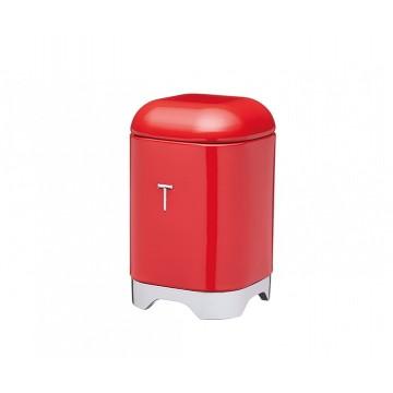Ёмкость для хранения чая Kitchen Craft Lovello Retro red