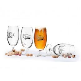 Набор бокалов для пива SagaForm Club 420 мл 4 шт