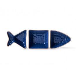 Менажница Рыба синяя SagaForm Kitchen