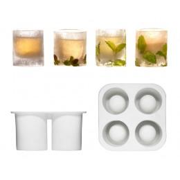 Форма для изготовления стаканов изо льда SagaForm Club
