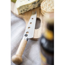 Нож-вилка для сыра с перфорацией SagaForm Nature