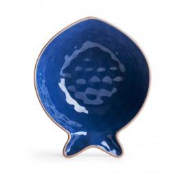 Блюдо сервировочное Рыба малое синее SagaForm Kitchen
