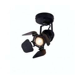 Настенный светильник STUDIO D8 50W GU10 черный метал