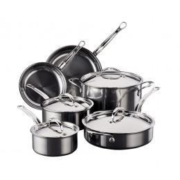 Набор из 2 сковород, 3 сотейников и кастрюли