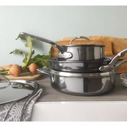 Набор из сковороды 28 см и 2 сотейников 1,9 и 3,8 л