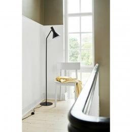 Лампа напольная Lyss черная матовая
