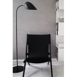 Лампа напольная Hitchcock черная матовая
