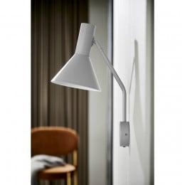 Лампа настенная Lyss светло-серая матовая