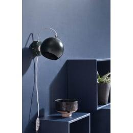 Лампа настенная Ball черная матовая