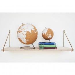 Глобус Cork Globe, белый, 14 см