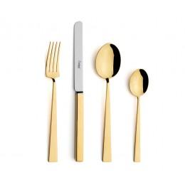 Набор столовых приборов CUTIPOL BAUHAUS GOLD
