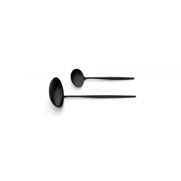 Набор столовых приборов CUTIPOL Moon Matte Black, матовый чёрный