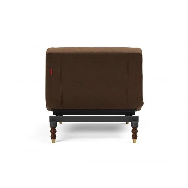 Кресло Innovation Living Oldschool Retro, коричневая кожа