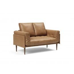 Кушетка Innovation Living Rollo Styletto тёмный дуб, коричневая