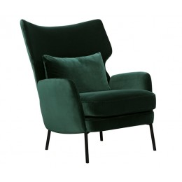 Кресло Sits Alex темно-зеленое бархат