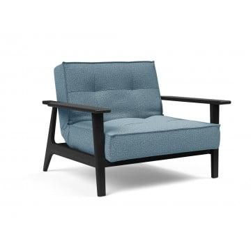 Кресло Innovation Living Splitback Frej чёрный дуб, голубой