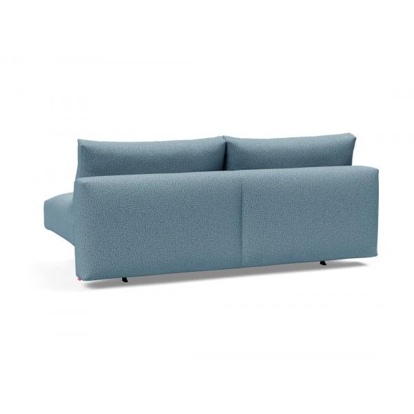 Диван-кровать Innovation Living Frode с ножками Stem, голубой