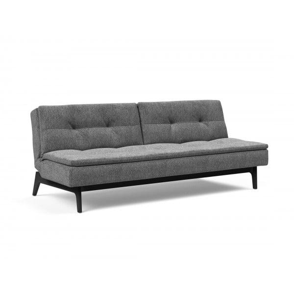 Диван-кровать Innovation Living Dublexo Eik чёрный дуб, серый