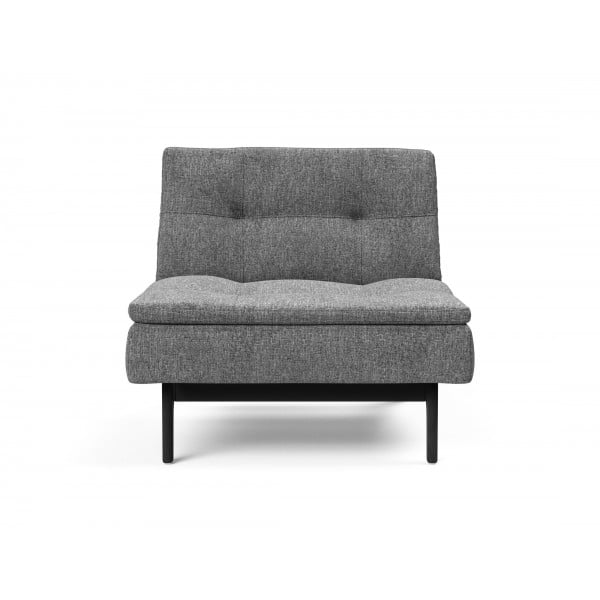 Кресло Innovation Living Dublexo Eik черный дуб, серый