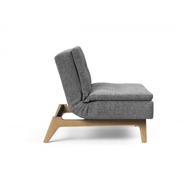 Кресло Innovation Living Dublexo Eik дуб, серый