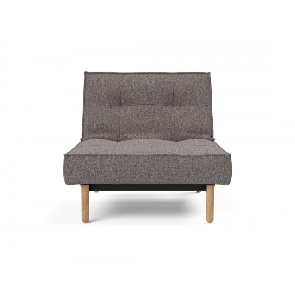 Кресло Innovation Living Splitback Stem дуб, серый