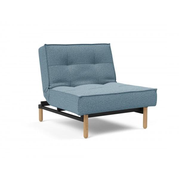 Кресло Innovation Living Splitback Stem дуб, голубой