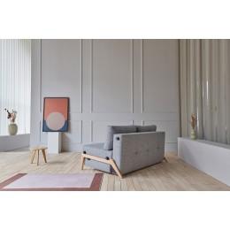 Диван-кровать Innovation Living Cubed Chrome, серый