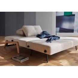 Диван-кровать Innovation Living Cubed с дубовыми ножками, песочный