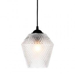 Подвесной светильник NOBB EDGY D17 60W E27 прозрачный стекло