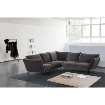Кресло Sits Hugo, тёмно-коричневое