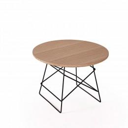Столик Innovation Living Grids с дубовой столешницей, 35 см