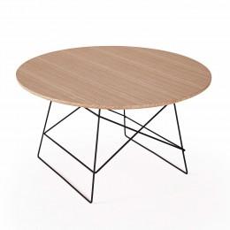 Столик Innovation Living Grids с дубовой столешницей, 70 см