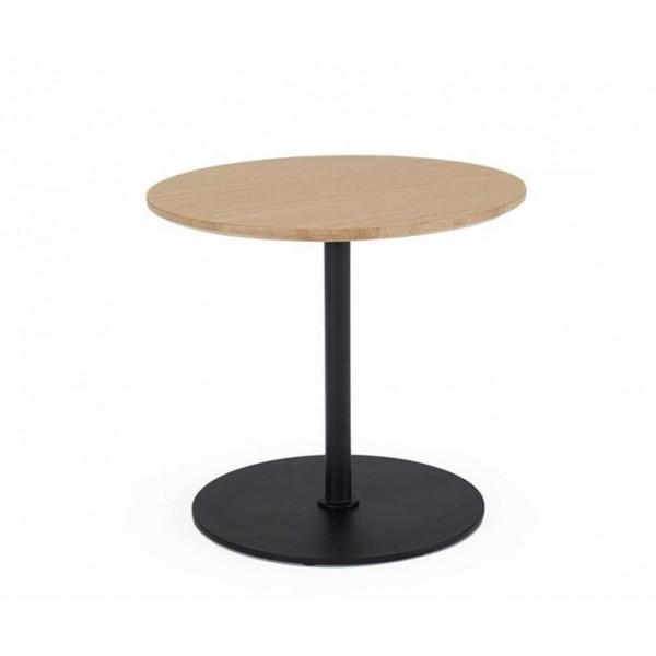 Столик Innovation Living Kiffa с дубовой столешницей, 45 см