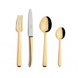 Набор столовых приборов CUTIPOL Ergo Gold, зеркальная полировка позолоченные