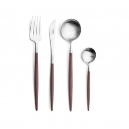 Набор столовых приборов CUTIPOL Goa Brown, коричневый