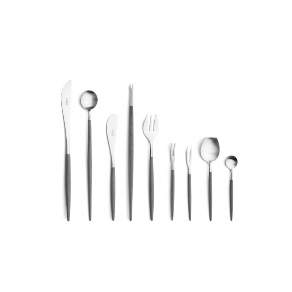 Набор столовых приборов CUTIPOL Goa Grey, серый