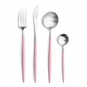 Набор столовых приборов CUTIPOL Goa Pink 24 предмета, розовый