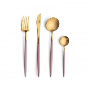 Набор столовых приборов CUTIPOL Goa Pink Gold 24 предмета, позолоченные розовый