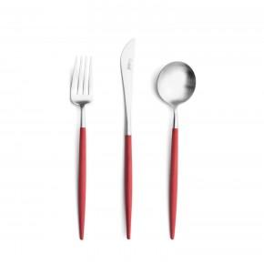 Набор столовых приборов CUTIPOL Goa Red 24 предмета, красный