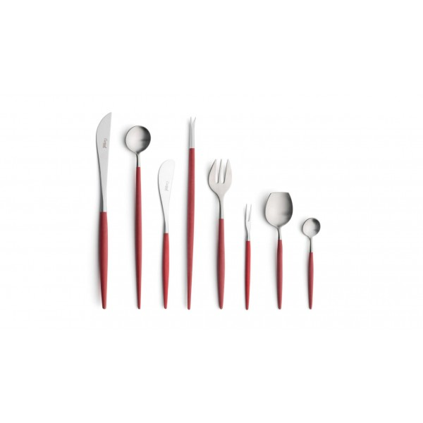 Набор столовых приборов CUTIPOL Goa Red, красный