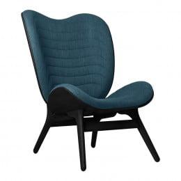 Кресло Umage A Conversation Piece, черный дуб, синий