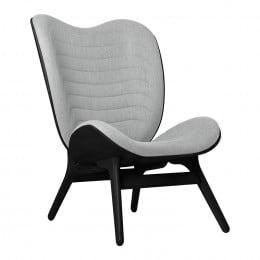 Кресло Umage A Conversation Piece, черный дуб, серебристый