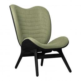 Кресло Umage A Conversation Piece, черный дуб, зелёный