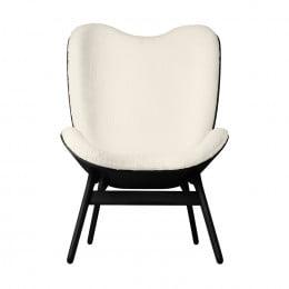 Кресло Umage A Conversation Piece, черный дуб, белый