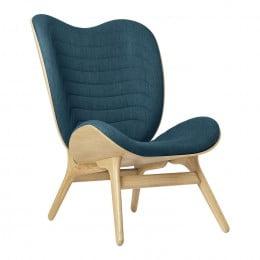 Кресло Umage A Conversation Piece, дуб, синий
