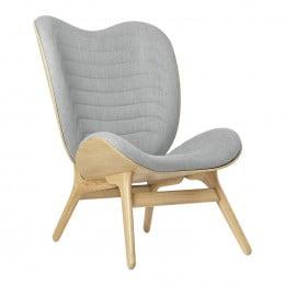 Кресло Umage A Conversation Piece, дуб, серебристый