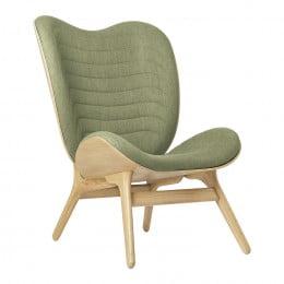 Кресло Umage A Conversation Piece, дуб, зелёный