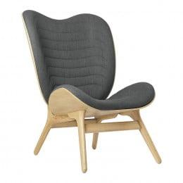 Кресло Umage A Conversation Piece, дуб, серый