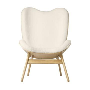 Кресло Umage A Conversation Piece, дуб, белый