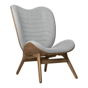 Кресло Umage A Conversation Piece, тёмный дуб, серебристая